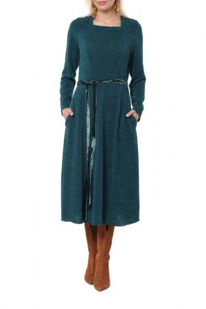 Платье Kata Binska. Цвет: изумрудный