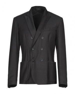 Пиджак 26.7 TWENTYSIXSEVEN. Цвет: стальной серый
