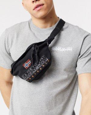 Черная сумка-кошелек на пояс Hering-Черный Napapijri