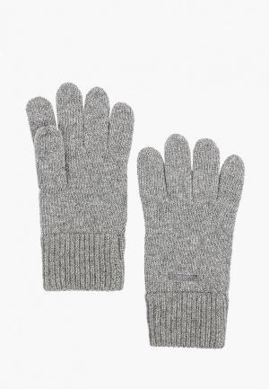Перчатки Gant. Цвет: серый