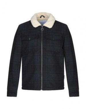Куртка BELLFIELD. Цвет: темно-синий
