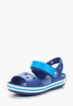 Сандалии Crocs Crocband Sandal Kids. Цвет: синий
