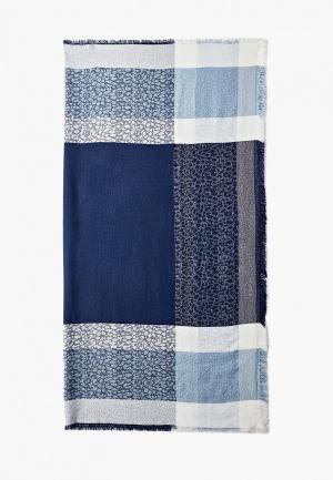 Платок Sela. Цвет: синий