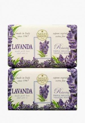 Набор для ухода за телом Nesti Dante Мыло Tuscan lavender / Лаванда, 2*250г. Цвет: разноцветный