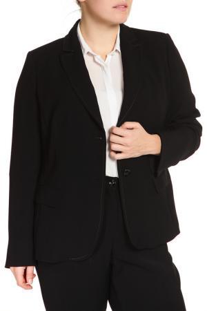 Пиджак Elena Miro. Цвет: черный