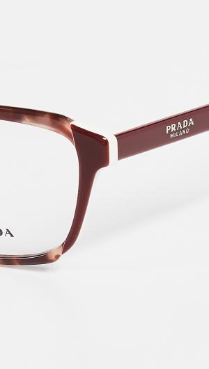 Rectangle Glasses Prada