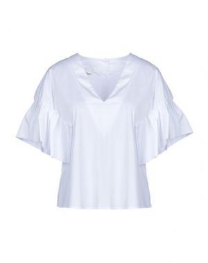 Блузка ANNARITA N TWENTY 4H. Цвет: белый