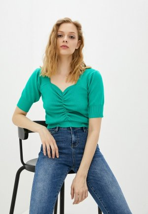 Блуза Compania Fantastica. Цвет: зеленый