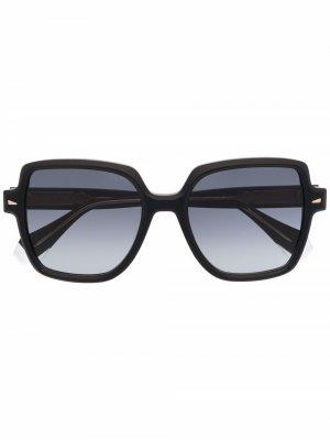 Солнцезащитные очки River GIGI STUDIOS. Цвет: черный