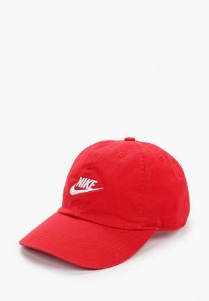 Бейсболка Nike Y NK H86 CAP FUTURA. Цвет: красный
