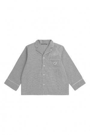 Серая пижама Bonpoint. Цвет: серый