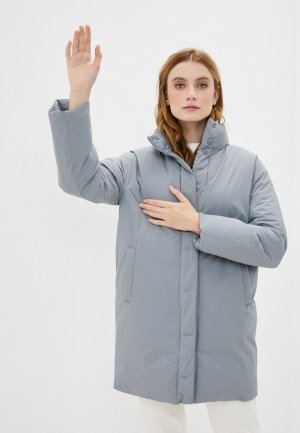 Куртка утепленная Incity. Цвет: серый