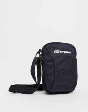 Большая сумка черного цвета Organiser-Черный цвет Berghaus