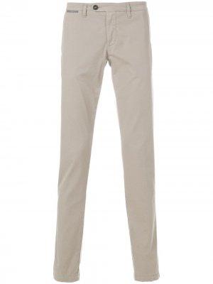 Классические брюки чинос Eleventy. Цвет: нейтральные цвета