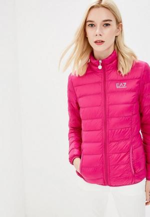 Пуховик EA7. Цвет: розовый