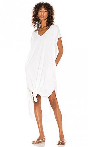 Платье Bobi. Цвет: белый