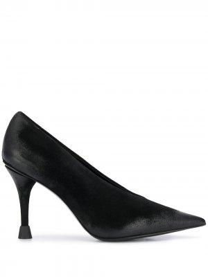 Туфли-лодочки с заостренным носком Premiata. Цвет: черный