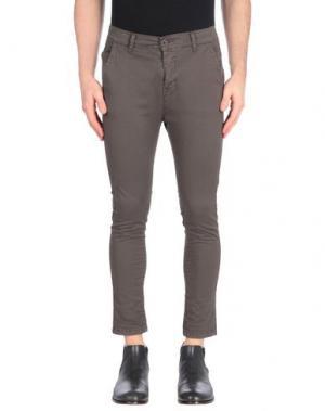 Повседневные брюки BEVERLY HILLS POLO CLUB. Цвет: темно-коричневый