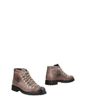 Полусапоги и высокие ботинки AT.P.CO. Цвет: голубиный серый