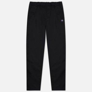 Мужские брюки Small Logo Straight Hem Champion Reverse Weave. Цвет: чёрный