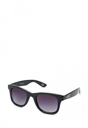 Очки солнцезащитные Vans W Janelle Hipster Su Black/Smoke. Цвет: черный