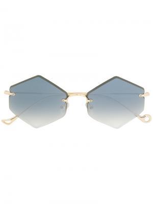 Солнцезащитные очки Kate Eyepetizer. Цвет: металлический