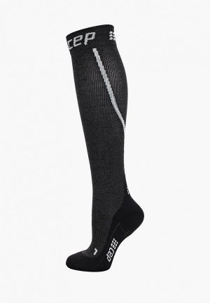 Компрессионные гольфы CEP Merino Wool Compression Knee Socks C223. Цвет: серый