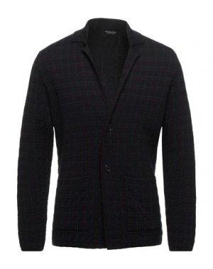 Пиджак SPADALONGA. Цвет: темно-синий