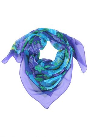 Платок Basile. Цвет: синий, бирюзовый, зеленый