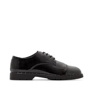 Ботинки-дерби лакированные Paris COOLWAY. Цвет: черный