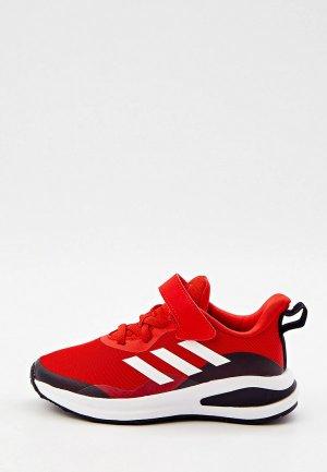 Кроссовки adidas FORTARUN EL K. Цвет: красный