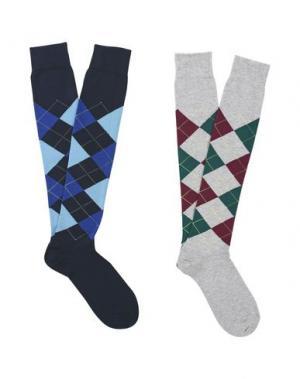 Короткие носки BURLINGTON. Цвет: темно-синий