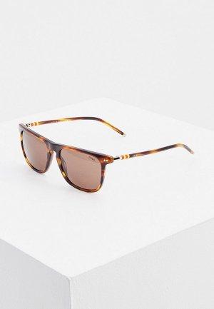 Очки солнцезащитные Polo Ralph Lauren PH4168 500773. Цвет: коричневый