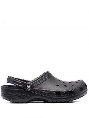 Массивные сандалии Crocs. Цвет: черный