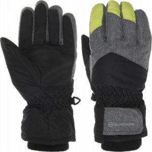 Перчатки для мальчиков , размер 5 Glissade. Цвет: черный