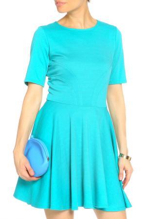 Платье I am. Цвет: бирюзовый