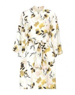 Платье миди DRY LAKE.. Цвет: слоновая кость