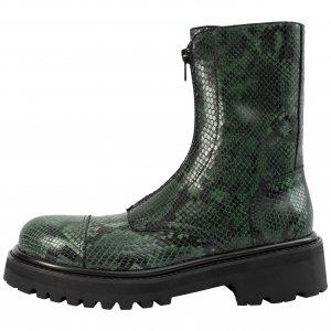 Кожаные ботинки на молнии Vetements