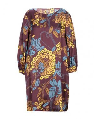 Короткое платье NOLITA. Цвет: баклажанный