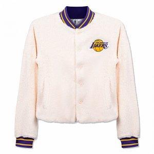 Los-Angeles Lakers Jacket Nike. Цвет: бежевый