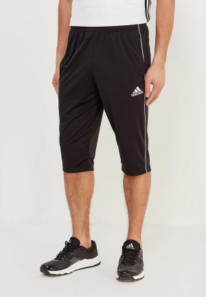 Шорты спортивные adidas CORE18 3/4 PNT. Цвет: черный