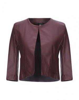 Пиджак PLEASE. Цвет: красно-коричневый