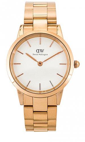 Часы iconic Daniel Wellington. Цвет: металлический золотой