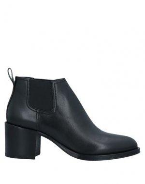 Полусапоги и высокие ботинки PREMIATA. Цвет: черный