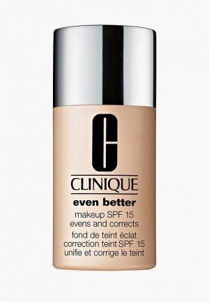 Тональный крем Clinique Корректирующий Even Better Makeup Broad Spectrum SPF 15. Цвет: бежевый