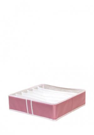 Органайзер для хранения Homsu Capri. Цвет: розовый