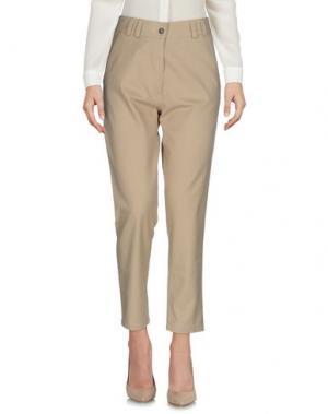 Повседневные брюки LE MONT ST MICHEL. Цвет: песочный