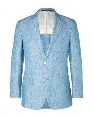 Пиджак RICHARD JAMES. Цвет: лазурный