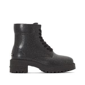 Ботинки от дождя на шнуровке Isbel LEMON JELLY. Цвет: черный