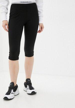 Капри Calvin Klein Jeans. Цвет: черный